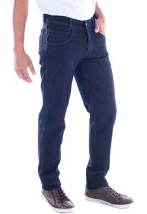 Calça 2180 Traymon Jeans Azul Modelagem 5 Bolso Slim