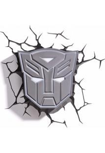 Arandela 3D Transformers Escudo Autobots Startec & Co 121400015