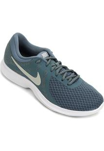 Tênis Nike Revolution 4 Feminino - Feminino-Azul+Branco