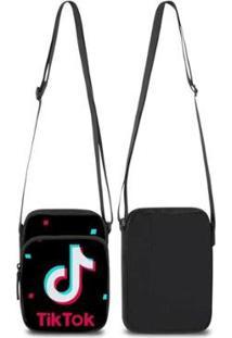 Mini Bolsa Marvs Bag Shoulder Transversal - Unissex-Preto