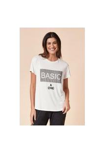 T-Shirt Tvz Estampada Basic & Chic
