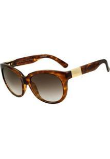 Óculos Evoke Mystique G22 Turtle - Feminino-Marrom