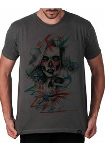 Camiseta Artseries Catrina Los Muertos Masculina - Masculino