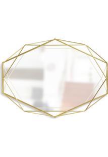 Espelho Prisma Umbra Dourado
