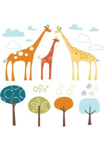 Adesivo De Parede Decorativo Safari De Girafas - Skip Hop