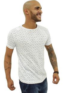 Camiseta Joss Âncora Branca