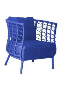 Poltrona De Corda Hall Azul