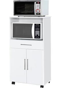 Gabinete De Cozinha Ipe Para Forno E Microondas 2 Pt 1 Gv Branco