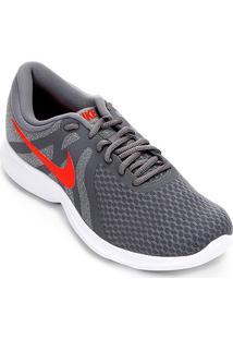 461e51478ab51 ... Tênis Nike Revolution 4 Masculino - Masculino-Cinza+Vermelho