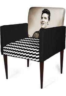 Cadeira Decorativa Mademoiselle Plus Imp Digital (2 Peças) Imp Digital 106 Elvis