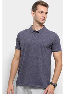 Camisa Polo Reserva Flame Luar Masculina - Masculino