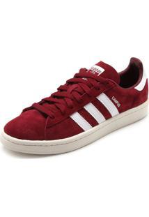 9eeadd72c ... greece tênis couro adidas originals campus vermelho d18f6 9d3fe