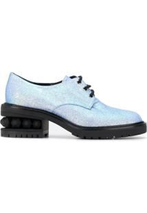 Nicholas Kirkwood Sapato Derby Suzi - Azul