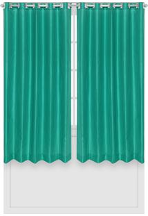 Cortina Santista Panamá Lisa 180X280 Verde