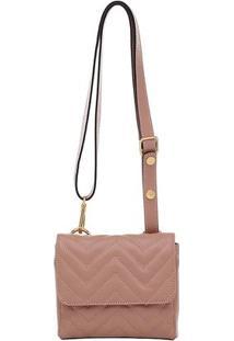 Bolsinha Smartbag Tranversal - Feminino-Bege