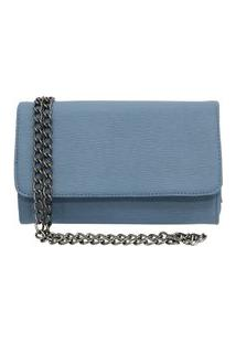 Bolsa Transversal Cluth Tellini Store Azul