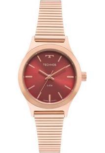 Relógio Technos Boutique Rosé Feminino - Feminino-Rose Gold