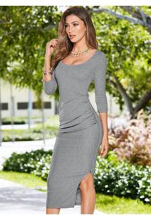 2e7f9fdf6 Vestido Bonprix Elastano feminino