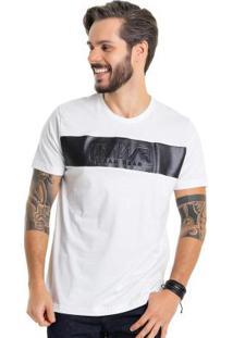 Camiseta Com Relevo Embossed Branco Bgo