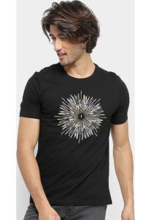 Camiseta Zoomp Chakra Masculina - Masculino-Preto