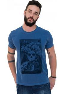 Camiseta Joss Estonada Premium Catrina - Masculino