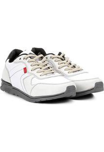Tênis Ferracini Jogger Califa Replay Masculino - Masculino-Branco