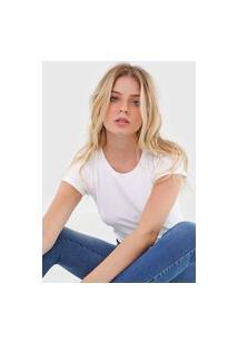 Camiseta Polo Wear Logo Branca