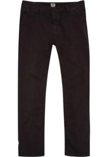 Calça Timberland Chino Squam Lake Stretch Twill Straight Masculina - Masculino-Preto