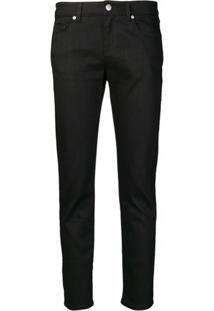Alexander Mcqueen Calça Jeans Skinny - Preto
