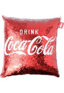 Capa De Almofada Dupla Face Coca-Cola®- Branca & Vermelhurban