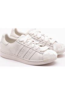 dc614e7ae26 ... Tênis Adidas Superstar Originals Off White Feminino 34