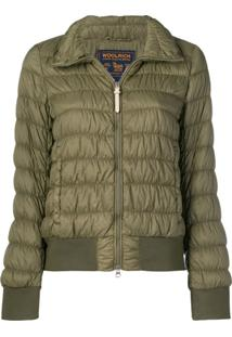 Woolrich Classic Padded Jacket - Verde
