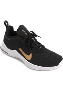 Tênis Nike Air Max Bella Tr 2 Feminino - Feminino-Preto+Dourado