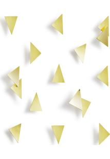 Painel Decorativo Triangular Umbra 25X30X4