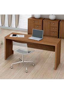 Mesa Para Escritório Me4109 Amêndoa - Tecno Mobili