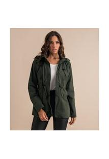 Jaqueta Com Capuz Endless Verde