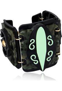 Bracelete Le Diamond Kauane Verde