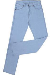 Calça Jeans Claro Tassa Delavê 22678 Masculina - Masculino-Azul Claro