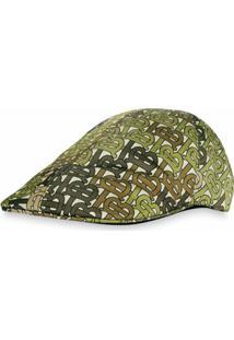 Burberry Chapéu Monogramado - Verde