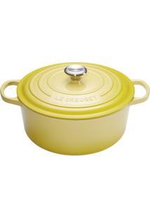 Panela Redonda Signature 26 Cm Amarelo Soleil Le Creuset