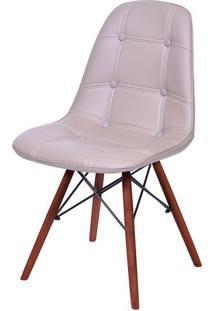 Cadeira Eames Botone Fendi Base Escura - 44875 - Sun House
