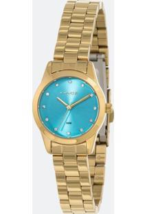 Relógio Feminino Lince Lrg4435L-A1Kx Analógico 5Atm
