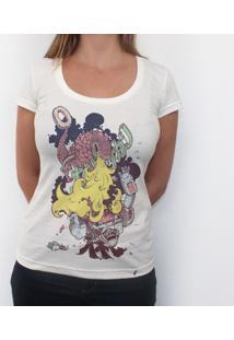 Cremoso & Crocante - Camiseta Clássica Feminina