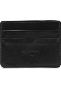 Porta-Cartão Mcd Recortes Preta