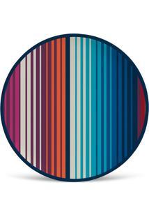 Prato De Sobremesa Govinda Colorido 2,5X20X20 Cm