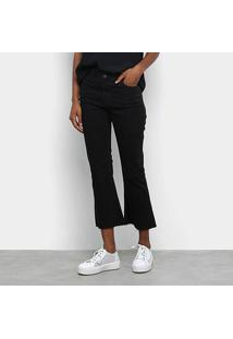 Calça Jeans Flare Tommy Jeans Cropped Feminina - Feminino