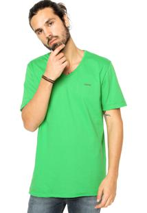 Camiseta Sommer Reta Verde