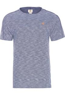 Camiseta Masculina Rustic Dark Sapphire - Azul