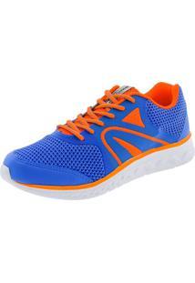 Tênis Balance Rainha - 42003322 Azul/Laranja