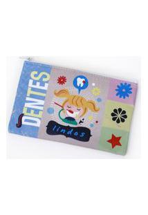 Necessaire Jokenpô/Ó Design Envelope Menina Branco